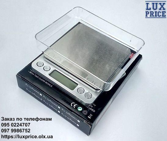 Весы ювелирные электронные 6295, 500грам. 0,01г. Ваги ювелірні