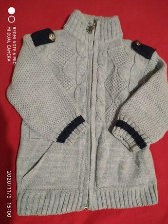 Детский свитер на 3-4 года