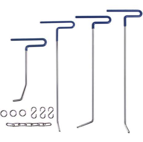 Mookis Rod PDR narzędzie do naprawy wgnieceń 9-częściowe