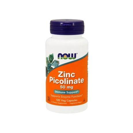 Пиколинат цинка Now Foods, 50 мг, 120 капсул США zinc picolinate