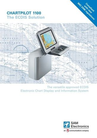 ECDIS Sam Elecronics Chartpilot 1100