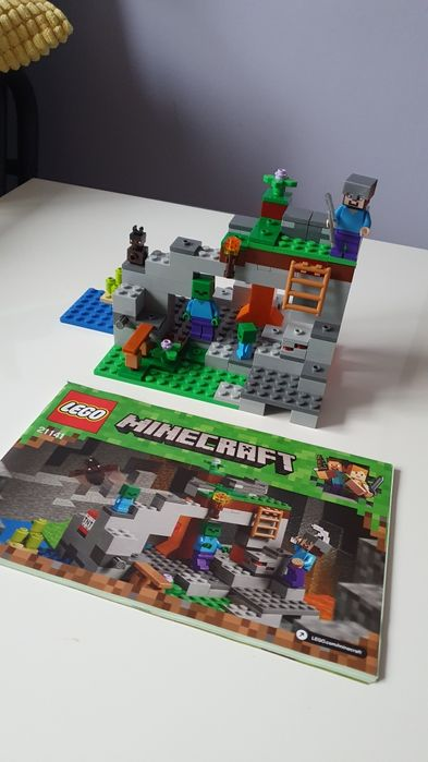 Lego Minecraft 21141 Palowice - image 1
