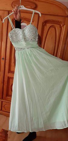 Sukienka długa maxi wesele studniówka