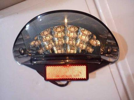 Farolim LED farol traz moto yamaha aerox 50