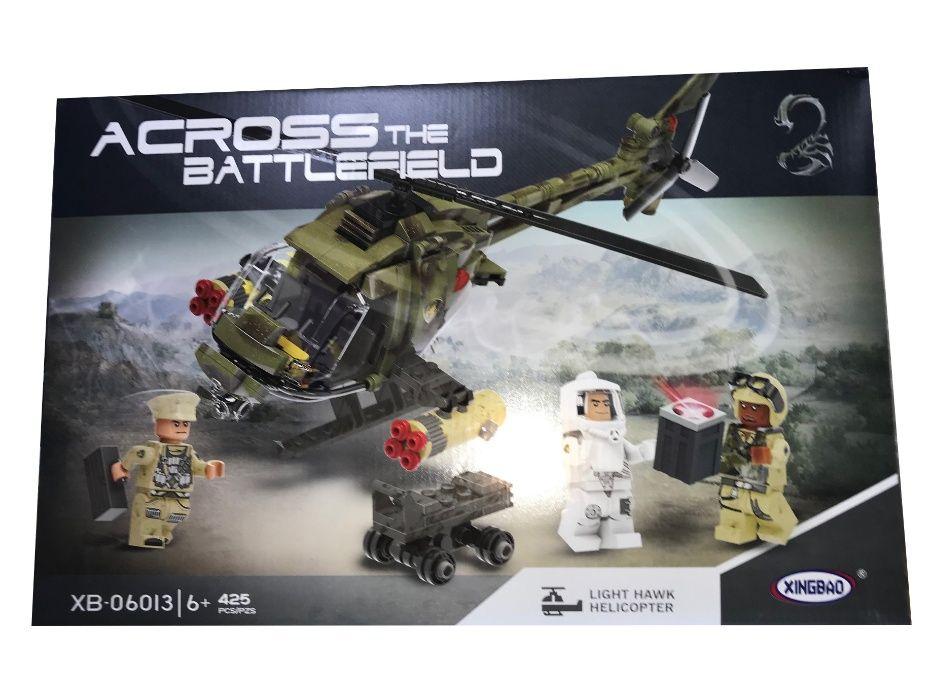 Klocki Across Helikopter Wojskowy 425 elementów.