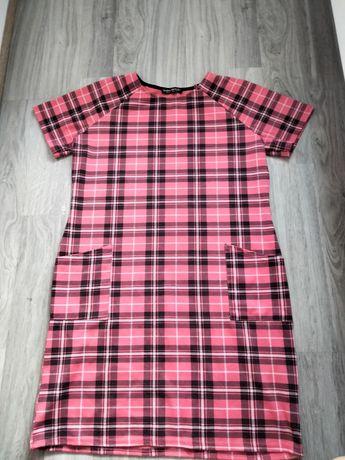 Sukienka krata L/XL