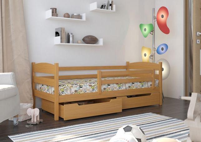 Łóżeczko dziecięce - Julka - Polski Produkt - drewno Premium - 7 dni!