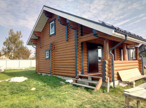 Отделка деревянных домов. Теплый шов