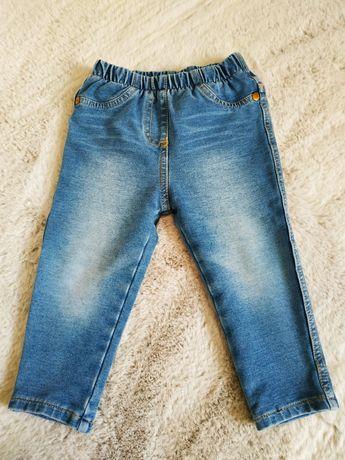 Spodnie jeansowe/jeans/dżins marki Next rozmiar 80 cm