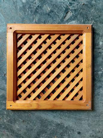 Решетки деревянные