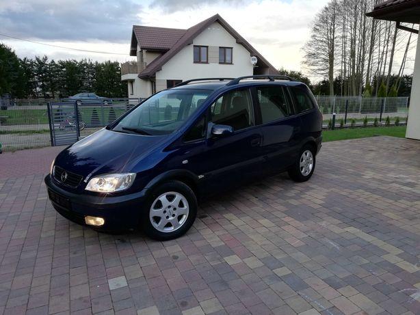 // Opel Zafira 7 osób // Benzyna po opłatach z Niemiec