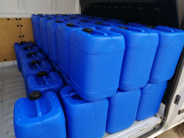 Kanistry, pojemniki 20 L, na ropę, benzyne wode