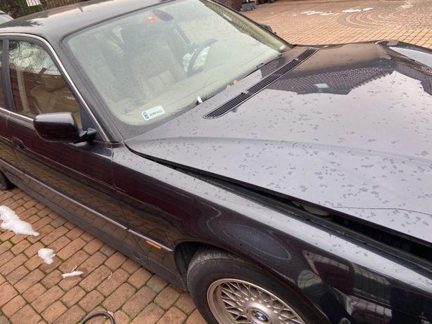 BMW 740i 1997 rozbity przód