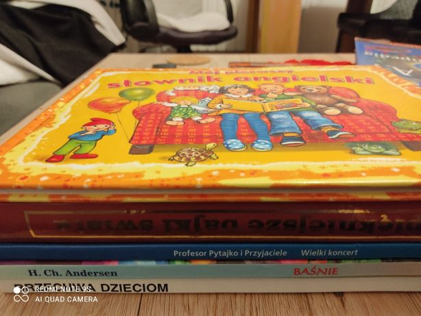 Zbór 6 książek dla dzieci.