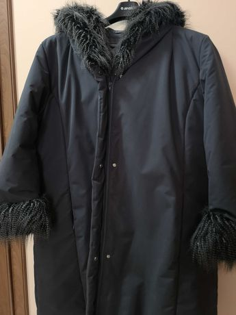 Kurtka płaszczyk zimowy duża jak nowa 52