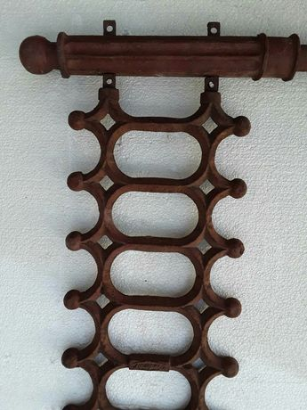 Забор чугунный литой новый в комплекте со чугунными литыми столбиками