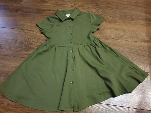 Sukienka zara 128 olivka