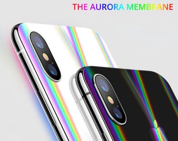 Аврора Назад Защита гидрогель iPhone 12\ 6\7\8 Plus X\11pro\XR\11max