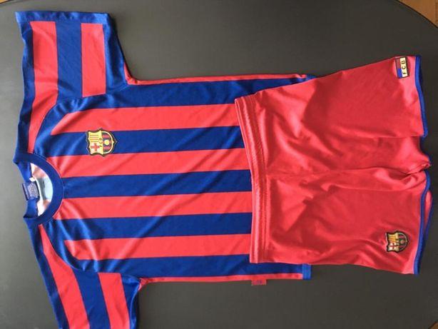 Oryginalny strój piłkarski FCB Barcelona 10 - 12 lat Ronaldo