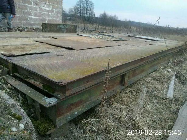 ОБМЕН,Весы автомобильные механические грузоподъемностью 15 тонн