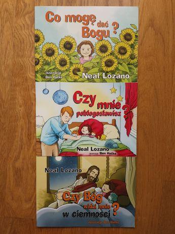3 książeczki Neal Lozano