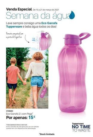 Tupperware - Garrafa 2 litros