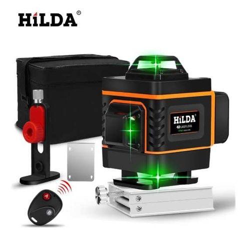 Лазерный уровень нивелир HILDA 12 линий.