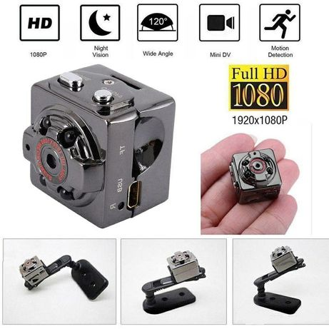 Мини камера SQ8 960P (микро видеокамера с датчиком движения и ночным в