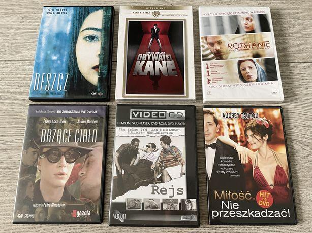 FILMY DVD Zestaw 6 filmów! Jak nowe :)
