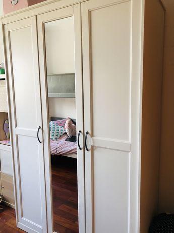 Roupeiro branco 3 portas IKEA