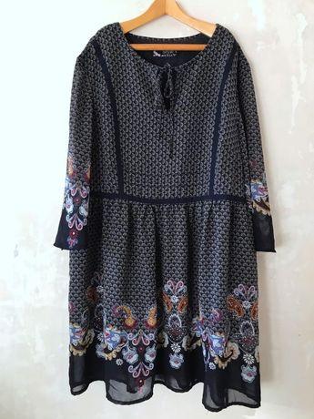 Платье туника в стиле бохо богемном этно TCM Boho Style размер 42