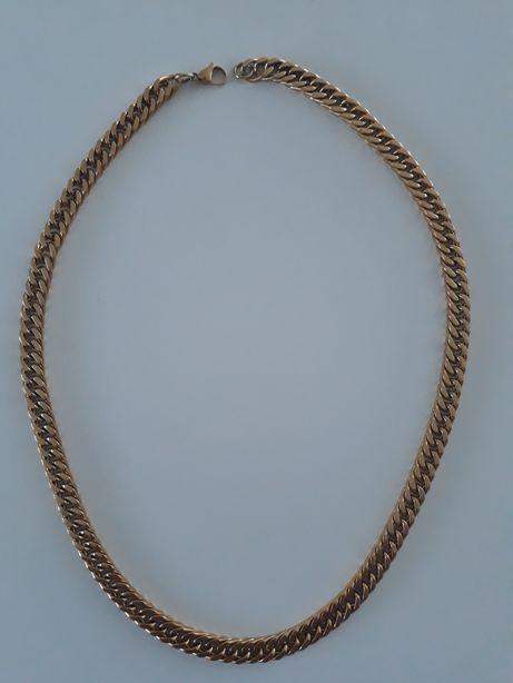 Łańcuch złoty męskie.