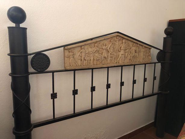 Cabeceira para cama de casal em ferro
