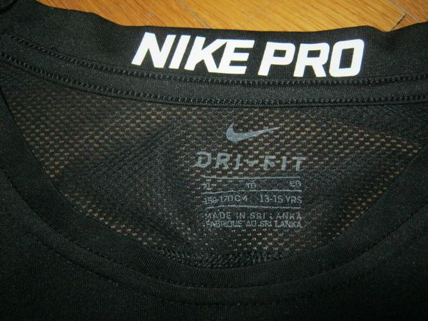 Спортивная футболка на подростка Nike Pro . рост 158-170 см