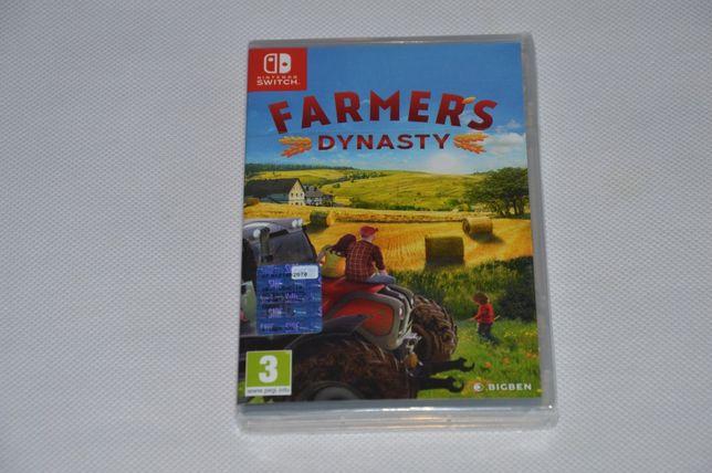 Farmer's Dynasty - Nintendo Switch Nowa Folia