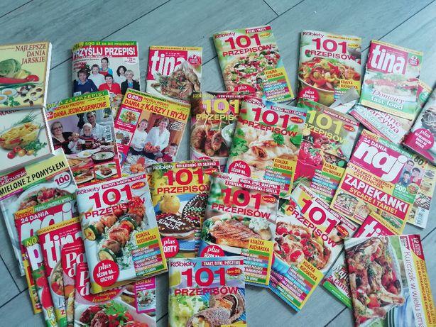 czasopisma z przepisami kulinarnymi