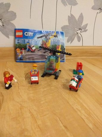 LEGO City 60100 helikopter