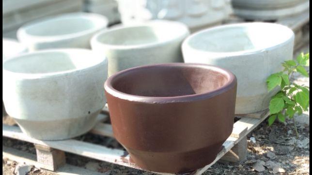 вазон бетонный, клумба бетонная, кашпо бетонное, горшок бетонный.
