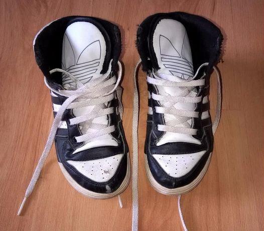 Высокие кожаные кеды-ботинки, 18, 5 стелька