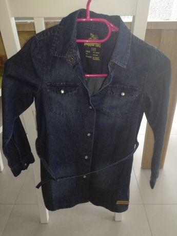 Perpets jeansowa tunika rozm 122