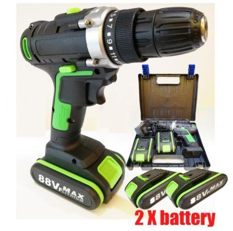 Berbequim / Aparafusadora Sem Fios 21V - 2x Baterias