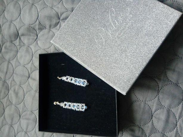 Biżuteria ślubna kolczyki Swarovski Crystal Betix