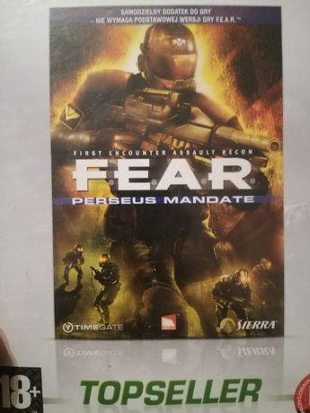 Gra FEAR. Perseus mandate. Topseller