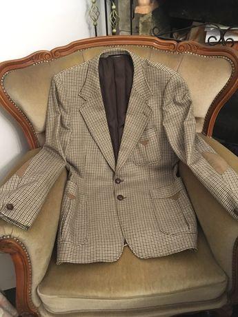 Marynarka 100%welna lambs wool M Vintage