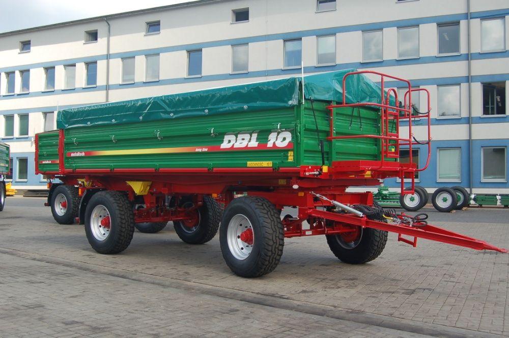 Przyczepa rolnicza wywrotka METAL-TECH DBL 10 Ton LONG |Pronar Wielton Mirosławiec - image 1