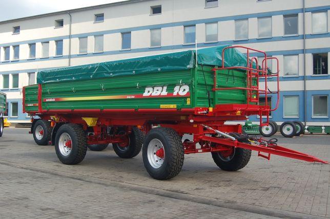 Przyczepa rolnicza wywrotka METAL-TECH DBL 10 Ton LONG |Pronar Wielton