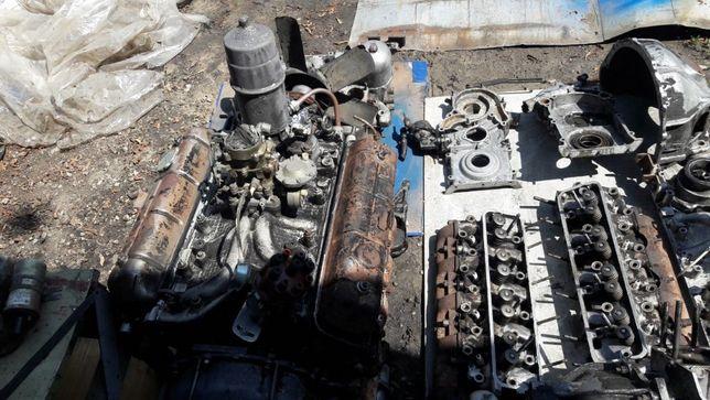 Продам мотор по запчастям ГАЗ 3307/ ГАЗ 53 / ПАЗ по запчастям