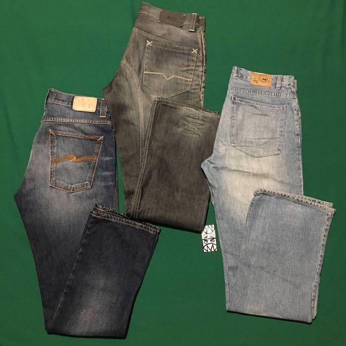 Джинсы Прямые Nudie Jeans Hugo Boss Next Denim 34 размер Киев - изображение 1