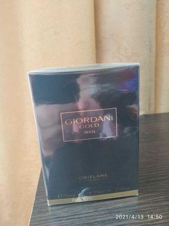 Мужская туалетная вода giordani gold man 75ml