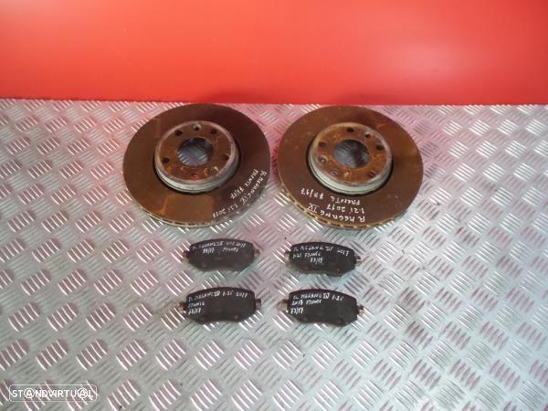 Discos Travão Com Calços Renault Megane Iv Hatchback (B9a/M/N_)